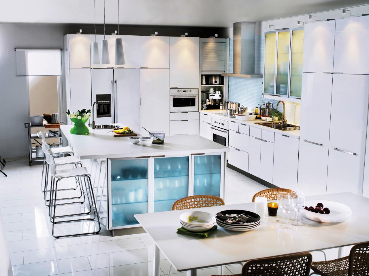 Обзор кухонь от Икеа 2017 года