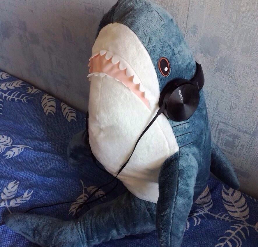 Тайная жизнь Акулы БЛОХЭЙ из ИКЕИ (14 фото) - Жизнь в ...