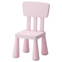 Детский стул МАММУТ светло-розовый артикуль № 502.675.58 в наличии. Онлайн магазин ИКЕА Республика Беларусь. Недорогая доставка и установка.