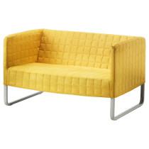 Диван 2-местный КНОППАРП ярко-желтый артикуль № 502.635.79 в наличии. Онлайн каталог IKEA Беларусь. Быстрая доставка и соборка.