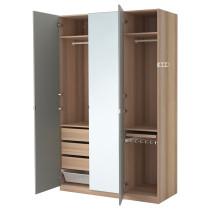 Гардероб ПАКС артикуль № 290.296.87 в наличии. Интернет сайт IKEA Минск. Быстрая доставка и установка.