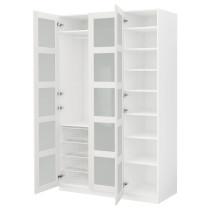 Гардероб ПАКС белый артикуль № 491.288.08 в наличии. Online каталог IKEA Минск. Быстрая доставка и соборка.