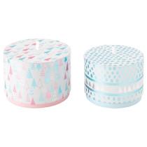Коробка подарочная,2 штуки ВИНТЕР 2015 розовый артикуль № 803.032.44 в наличии. Интернет магазин ИКЕА Минск. Недорогая доставка и монтаж.