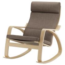 Кресло-качалка ПОЭНГ коричневый артикуль № 390.108.66 в наличии. Online магазин ИКЕА РБ. Быстрая доставка и монтаж.