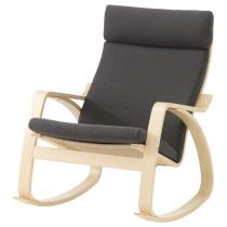 Кресло-качалка ПОЭНГ серый артикуль № 690.904.75 в наличии. Интернет магазин IKEA Минск. Быстрая доставка и соборка.