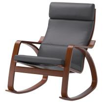 Кресло-качалка ПОЭНГ серый артикуль № 890.901.96 в наличии. Интернет каталог ИКЕА Минск. Недорогая доставка и монтаж.