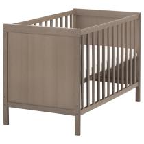 Кроватка детская СУНДВИК серо-коричневый артикуль № 702.485.64 в наличии. Online сайт IKEA Республика Беларусь. Быстрая доставка и установка.