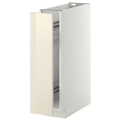 Наполный шкаф/выдвижной внутри элем МЕТОД белый артикуль № 491.200.58 в наличии. Онлайн сайт IKEA РБ. Недорогая доставка и установка.