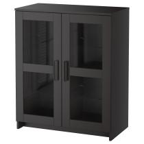 Шкаф с дверями БРИМНЭС черный артикуль № 003.006.64 в наличии. Интернет каталог IKEA Минск. Быстрая доставка и установка.