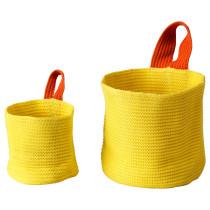 Набор корзин, 2 штуки СТИККАТ оранжевый артикуль № 902.965.87 в наличии. Онлайн каталог ИКЕА Минск. Быстрая доставка и установка.