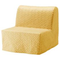 Кресло-кровать ЛИКСЕЛЕ ЛЁВОС желтый артикуль № 591.341.54 в наличии. Онлайн магазин IKEA Беларусь. Недорогая доставка и установка.