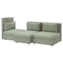 3-местный диван ВАЛЛЕНТУНА зеленый артикуль № 991.497.66 в наличии. Интернет магазин IKEA РБ. Быстрая доставка и монтаж.