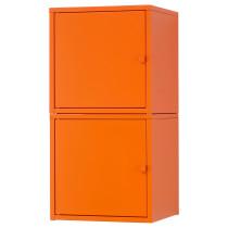 Комбинация для хранения ЛИКСГУЛЬТ оранжевый артикуль № 291.615.92 в наличии. Интернет каталог ИКЕА РБ. Недорогая доставка и установка.