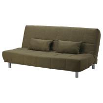 Диван-кровать 3-местный БЕДИНГЕ / ВАЛЛА зеленый артикуль № 191.710.92 в наличии. Интернет сайт IKEA Республика Беларусь. Недорогая доставка и установка.