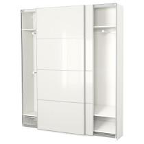 Гардероб ПАКС белый артикуль № 691.670.40 в наличии. Online сайт IKEA РБ. Быстрая доставка и соборка.