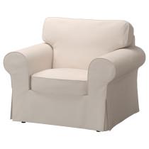 Кресло ЭКТОРП бежевый артикуль № 791.290.81 в наличии. Интернет магазин IKEA Минск. Недорогая доставка и соборка.