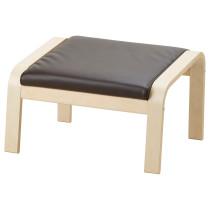 Табурет для ног ПОЭНГ темно-коричневый артикуль № 192.038.04 в наличии. Online магазин IKEA Беларусь. Недорогая доставка и соборка.