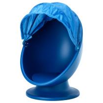 Вращающееся кресло ИКЕА ПС ЛЁМСК синий артикуль № 003.661.22 в наличии. Интернет сайт IKEA Минск. Недорогая доставка и соборка.
