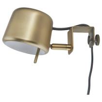 Лампа с зажимом ВАРВ желтая медь артикуль № 703.607.20 в наличии. Интернет каталог ИКЕА РБ. Недорогая доставка и соборка.