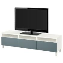 Тумба для ТВ с ящиками БЕСТО белый артикуль № 791.930.10 в наличии. Онлайн сайт IKEA Республика Беларусь. Быстрая доставка и установка.