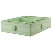 Ящик с отделениями СКУББ светло-зеленый артикуль № 203.965.90 в наличии. Интернет сайт IKEA РБ. Недорогая доставка и соборка.
