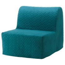 Кресло-кровать ЛИКСЕЛЕ ЛЁВОС бирюзовый артикуль № 892.407.42 в наличии. Онлайн сайт IKEA Беларусь. Недорогая доставка и соборка.
