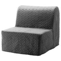 Кресло-кровать ЛИКСЕЛЕ МУРБО серый артикуль № 992.407.46 в наличии. Online сайт IKEA РБ. Быстрая доставка и соборка.