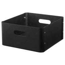 Ящик БУЛЛИГ черный артикуль № 504.206.59 в наличии. Online сайт IKEA РБ. Быстрая доставка и установка.