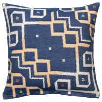 Чехол на подушку ОВЕРАЛЛЬТ синий артикуль № 504.301.54 в наличии. Онлайн сайт IKEA Минск. Недорогая доставка и монтаж.