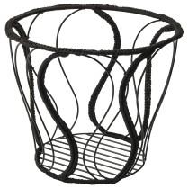 Корзина ОВЕРАЛЛЬТ черный артикуль № 104.302.69 в наличии. Онлайн магазин IKEA РБ. Недорогая доставка и установка.